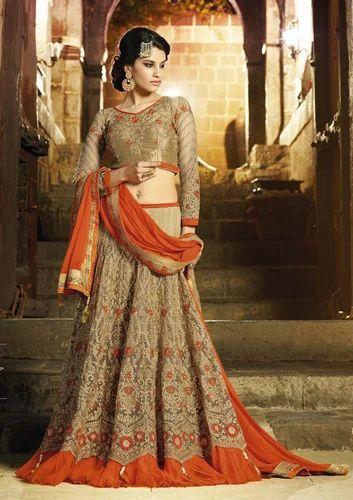 d08f0366ba Designer Ladies Lehenga - Partywear Ladies Lehenga Manufacturer from ...