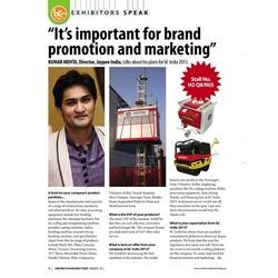 It's important for brand promotion and Marketing
