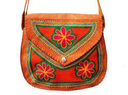 Leather Handicraft Bag