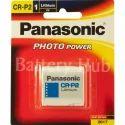 CR P2 Panasonic 6V Photo Lithium
