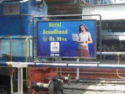 Pune Railway Station Advertising