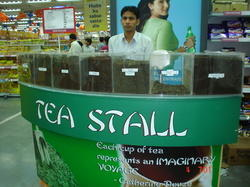 Tea Stall in Big Bazaar