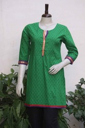 Hand Block Cotton Kurti