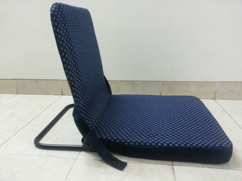 Captivating Metal Back Support  Meditation Chairs / Floor Chairs