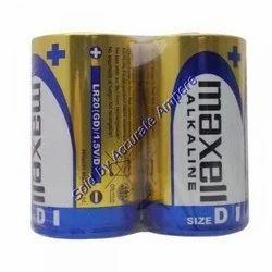 Maxell D Size Lr20 Alkaline Batteries