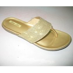 Golden Colour Sandals