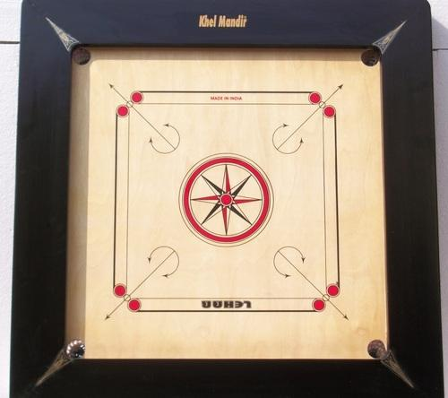 Carrom Board Jumbo Gloss Finish
