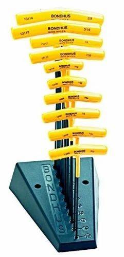 Bondhus 15210 3//16 In T-handle Hex Wrench