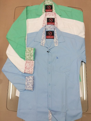Men Cotton Corduroy Shirts