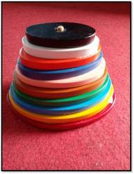 Printed Graded Tower Oval