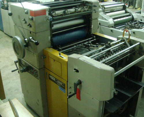 ryobi 480 k offset printing machine double master at rs 225000 rh indiamart com