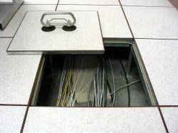 Raised False Flooring, Thickness: 32 Mm, Size: 60 X 60 Cm