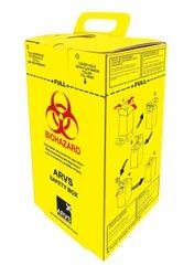Cardboard Box For Sharp Waste