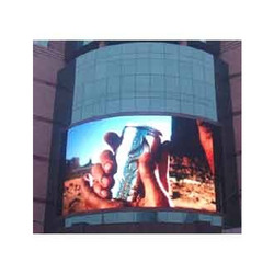 Outdoor Full Color ARC Screen