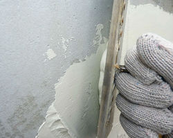 Milky White Cementitious Coating