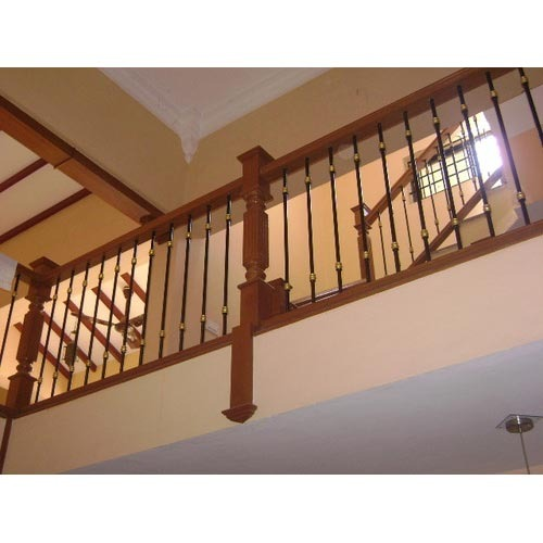 Home Staircase - Wooden Staircase Manufacturer from Chennai