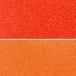 Orange Artificial Leather Cloth