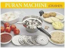 Stainless Steel Crusher Puran Patra