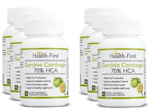 Health First Garcinia Cambogia Extract 70 Hca 90 Capsules
