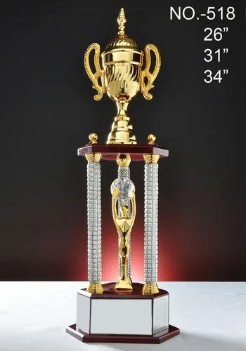Designer Metal Cup Trophy