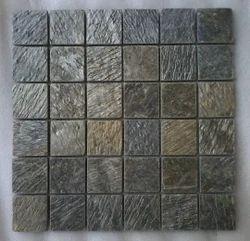 Deoli Green Slate Mosaic Tiles
