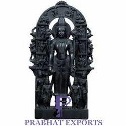 Black Marble Vishnu Statue