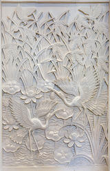 Stones Woods Metals Marble Carving Walls, Polished