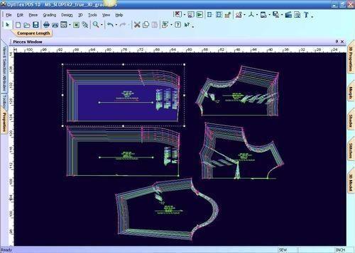 Cad Cam Garment Pattern Making Software Digitizer Plotter - Om Sai ...