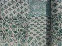 Patch Work Block Print Kantha Quilt