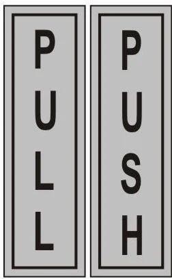ss push pull sign at rs 150 pair badarpur new delhi id