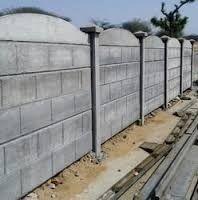 Folding Ready Made Boundary Wall