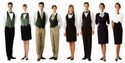 Plain P/c And Pv Fabric Hotel Uniform Fabric