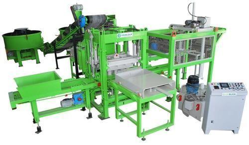 Alltech 2800 - 5300 Rpm Brick Making Machine Fully Automatic, Model Number: Uniblock 4-30