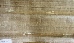 Embroidered Designer Eri Mix Muga Silk Fabric, Use: Curtains