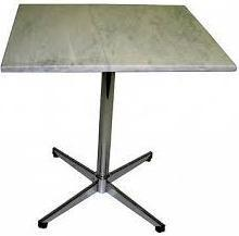 Marble Top Dining Table with SS Legs