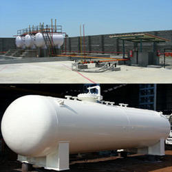 Propane Gas Storage Tank