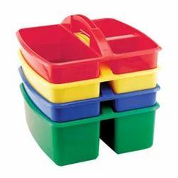 PP Square Plastic Caddy, Capacity: 250 gm
