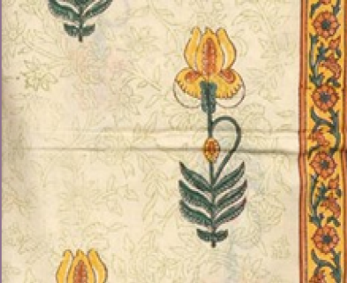 Flower Printed Fabric