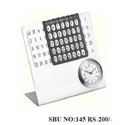 Steel Table Calendar