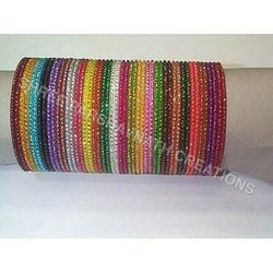 Multi Color Metal Bangles