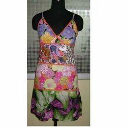 Fancy Flower Print  Dress