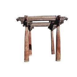 Wooden Design Pillars