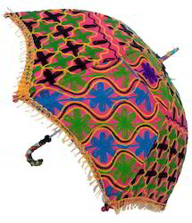 Designer Embroidery Umbrellas