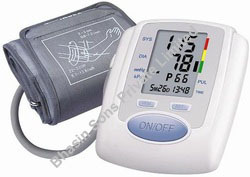 Digital Arm Sphygmomanometer with Charger