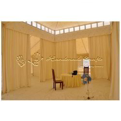 Glamping Mughal Tent