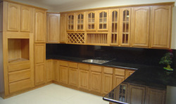 Wooded Cabinetries Interior Design