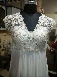Ladies White Dress