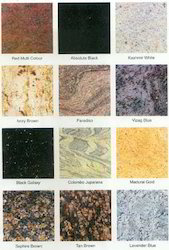 Flamed Finish Granite Slabs