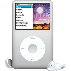 Media Players (Apple iPod Classic 160 GB Silver)