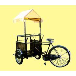Ice Cream Vending Rickshaw